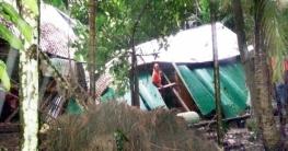 বুলবুলের তাণ্ডব লণ্ডভণ্ড করে দিয়েছে ফরিদগঞ্জের নাজমার বসতঘর