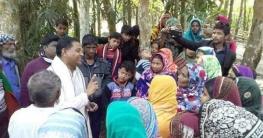 হাইমচরে নূর হোসেন পাটওয়ারীর ব্যাপক গণসংযোগ