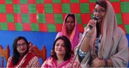 ফরিদপুর-৩: নৌকার প্রচারে প্রধানমন্ত্রীর দুই নাতনি