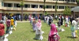 কর্মহীনদের পাশে চাঁদপুর জেলা পুলিশ