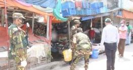 হাইমচর উপজেলায় সচেতনতা কার্যক্রম সেনাবাহিনীর