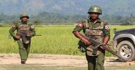 মিয়ানমারে সেনাবাহিনীর হামলায় নারী-শিশুসহ নিহত ৩২